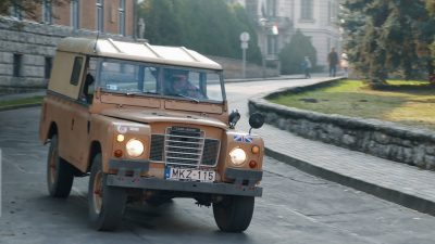 Land Rover az Öböl-háborúból