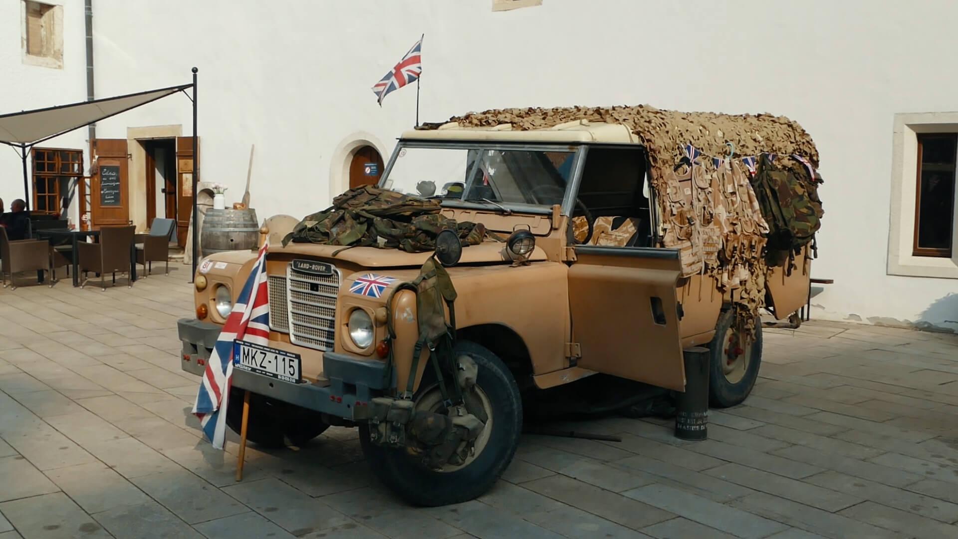 Land Rover az Öbölháborúból